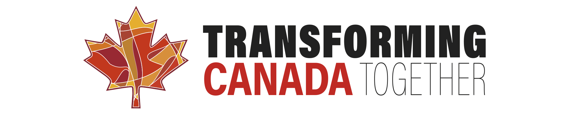 Transforming Canada Together Banner