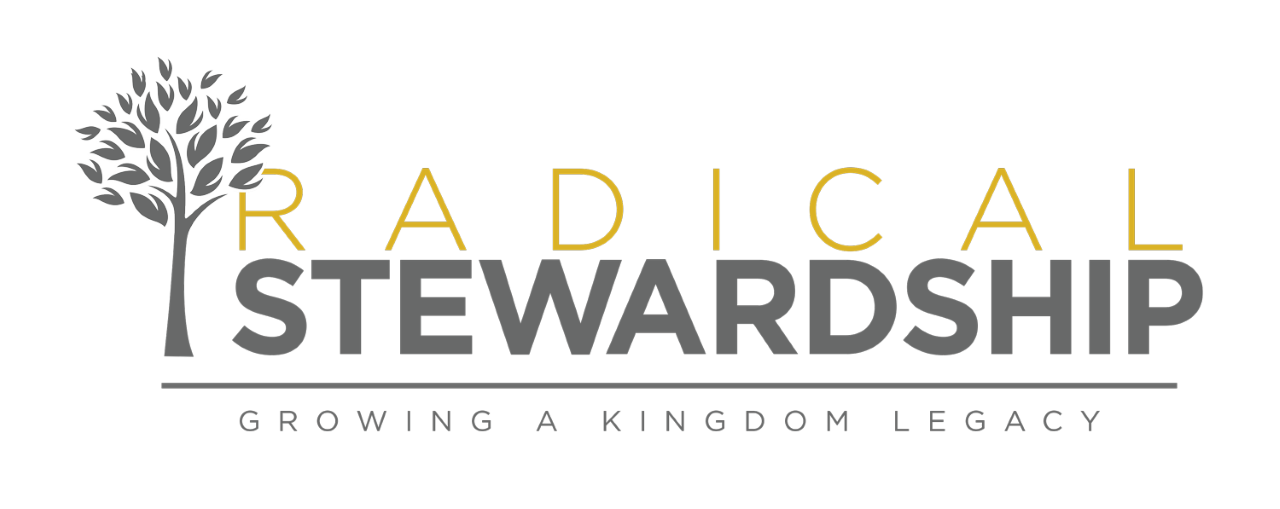 Radical Stewardship logo depicting a growing tree